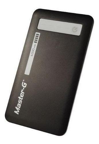 batería externa power bank master g 4.000 mah
