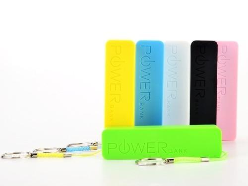 bateria externa powerbank 2600 mah para ipod iphone galaxy