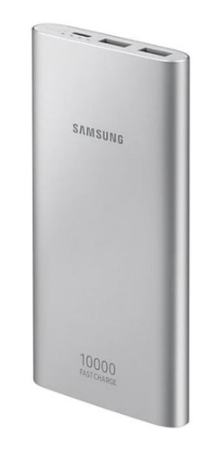 bateria externa recarregável carga rápida 10.000mah usb t