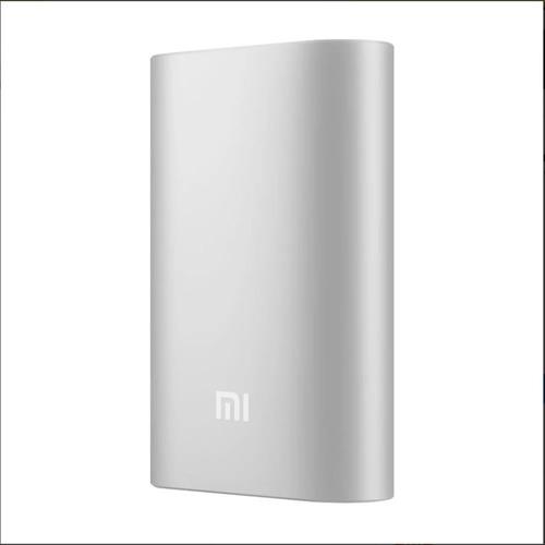 batería externa xiaomi power bank 10000mah - plata