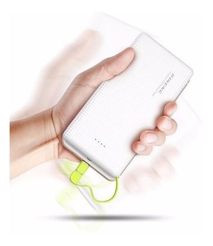bateria extra power bank pineng original slim 10000mah usb