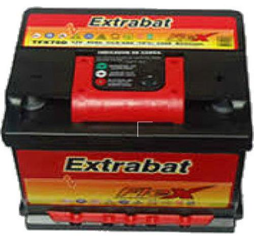 bateria extrabat 135 amp libre de mant. gomeria blandengues