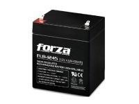batería forza - negro, 12 v, 4500 mah, plomo-ácido