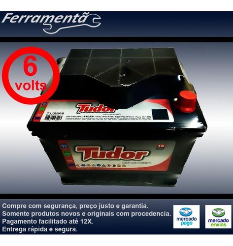 bateria fusca 6v veiculos antigos 6 volts 110ah garantia 15m