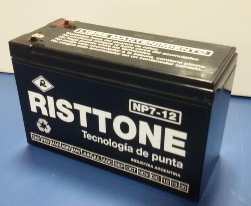 bateria gel 12v 7ah 7a recargable alarma