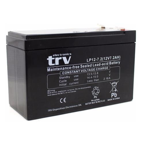 bateria gel 12v para ups alarma 7.2ah recargable