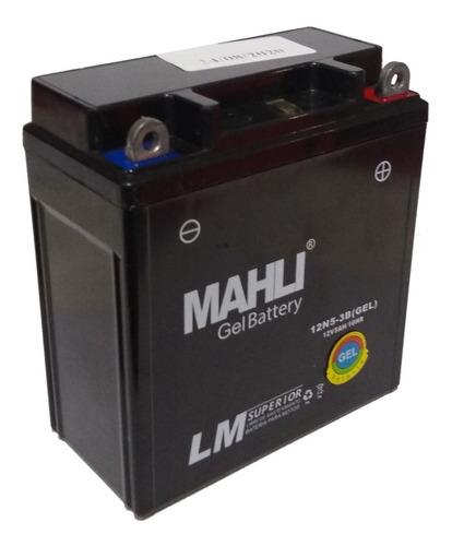 bateria gel mahli 12n5-3b yb5l-b fz 16 rouser 135 110cc full