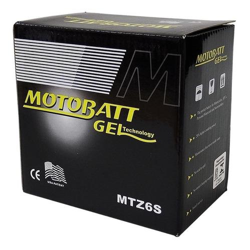 bateria gel motobatt mtz6s pcx 150 cg xre 300 xt 225 xtz 250