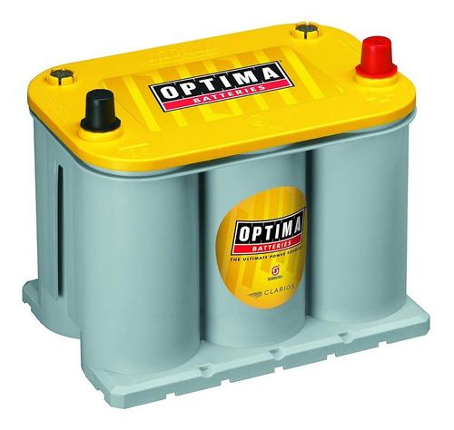 bateria gel optima d35 yellowtop 620 amp somos tienda