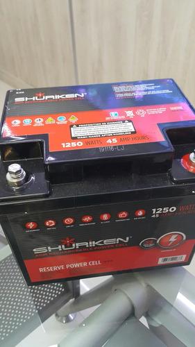 bateria gel shuriken 1250 watts rzr can am polaris brp