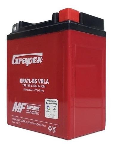 bateria gel yamaha xtz tenere 250 todos os anos 12v 7ah 7amp
