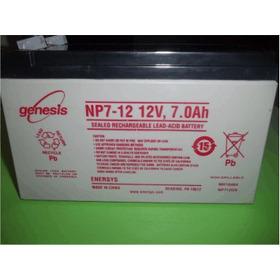 Bateria Genesis Np7-12  12 Volts A 7 Ampers Nuevas Selladas