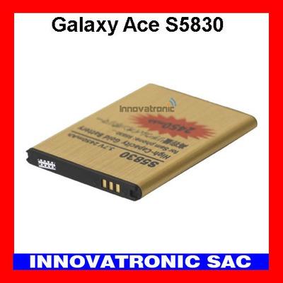 bateria gold alta capacidad para samsung galaxy ace s5830