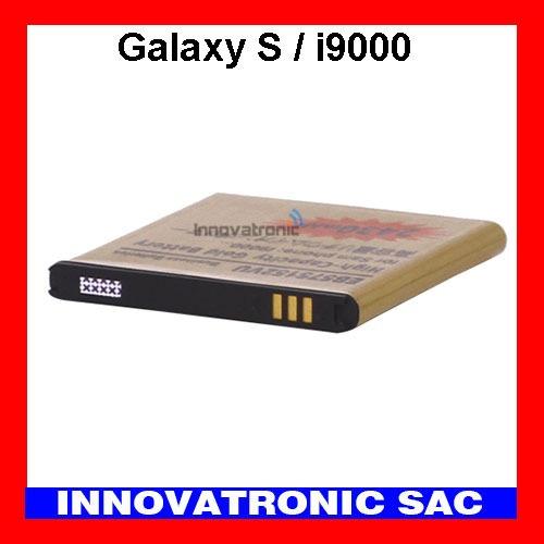 bateria gold alta capacidad para samsung galaxy s - i9000