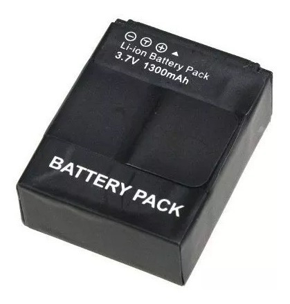 bateria gopro go pro recarregável hero 3 ahdbt-201/301