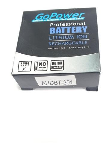 bateria gopro hero 3 marca gopower, ótima qualidade