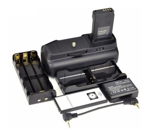 batería grip canon t3 t5 t6 alternativo + control + batería