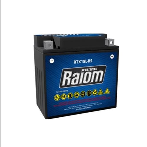 bateria   harley davidson / jetski  12v rtx18-l bs raiom