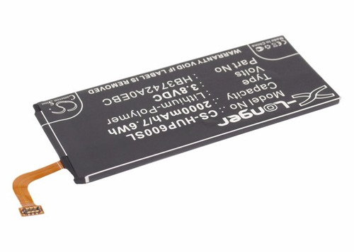 bateria hb3742a0ebc p/ huawei g620s, ascend p6, g630