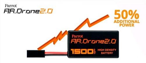 bateria hd alta densidad larga duracion ardrone 2.0 parrot