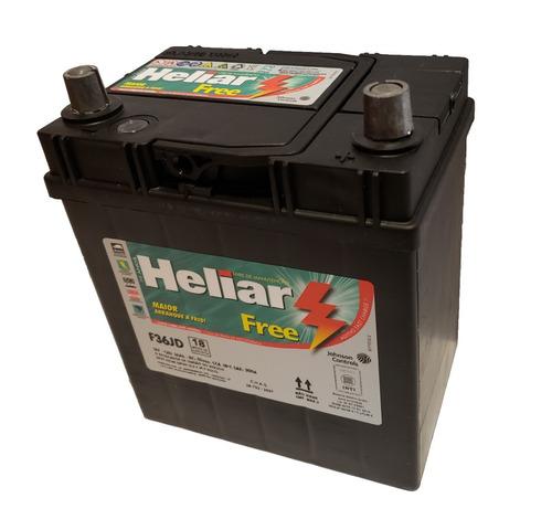 bateria heliar 12x36 original honda fit city- chery qq- atos