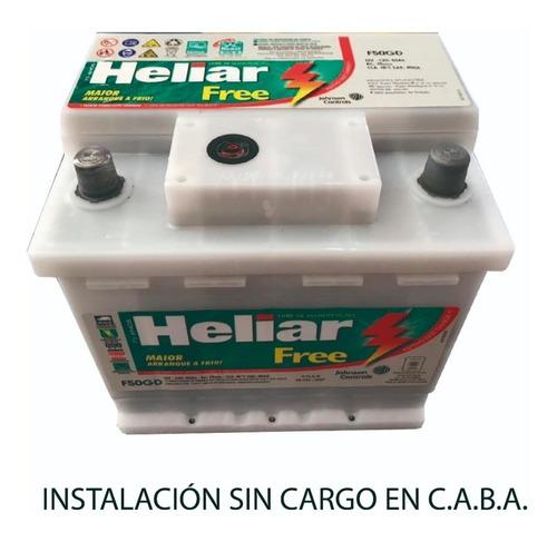 bateria heliar 12x50ah orig toyota corolla renault kangoo