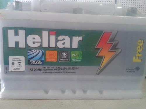 bateria heliar 70 amperes garantia 18 meses