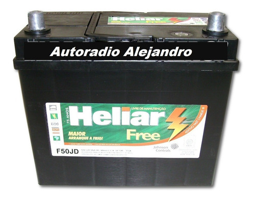 bateria heliar f50jd 12x50 original honda civic,crv,accord