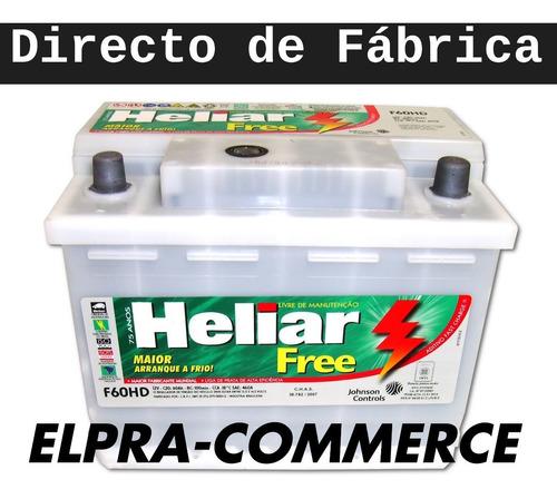bateria heliar f60hd 1 año de gtia. nueva oferta 12x65