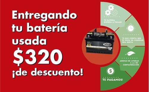 bateria heliar fgm60hd 1 año de gtia. nueva oferta 12x65