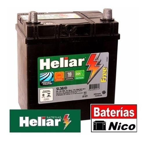 bateria heliar -  - honda fit - matiz - fj36