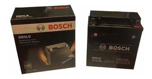 bateria honda nf 100 wave  bosch 12v yb5l-b