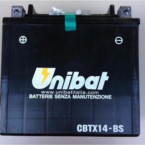 bateria honda vt 1100 c3 t shadow 2005 ytx14-bs unibat
