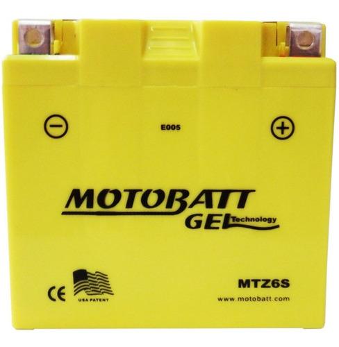 bateria honda xre 300 cg 125 pcx 150 cbr 250 mtz6s motobatt