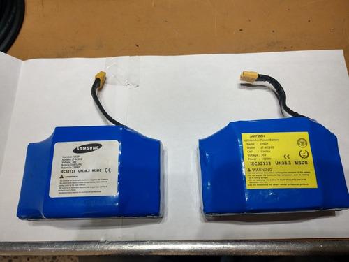 bateria hoveboard litio 36v 158wh 4.4 ah