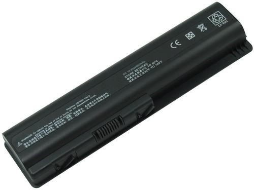 bateria hp compaq dv4 dv5 dv6 cq40 cq50 g60 g70 hdx16  6 cel