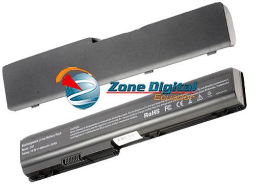 bateria hp dv7 dv7 z dv8 1135nr 6 celdas
