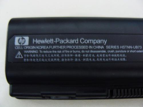 bateria hp    presario cq40-138tu, detecto