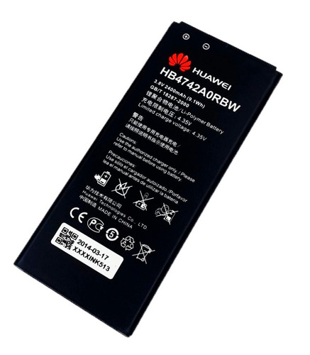 bateria huawei ascend g740 g630 g730 honor 3c hb4742aorbw