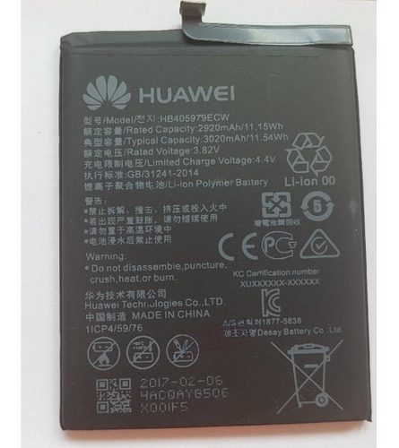 bateria huawei p10 nueva original garantia