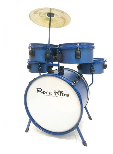 bateria infantil rmv rock kids 5 peças