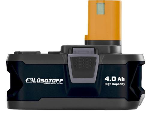 bateria ion litio 18v 4.0 ah lusqtoff powerlink tgmb418
