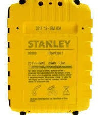 bateria ion litio 20v stanley