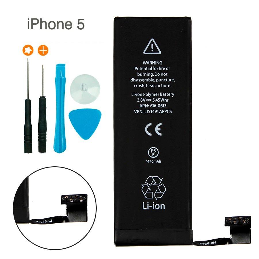 4d17dc9522f Bateria iPhone 4 4s 5 5g 5c 5s 6 4.7'' 6s 4.7'' + Ferramenta - R$ 37 ...