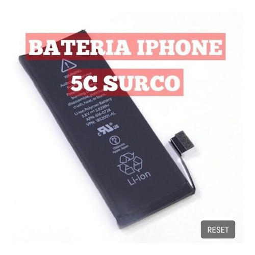 bateria iphone 5c surco original