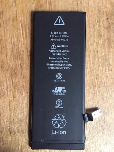 bateria iphone 6 6s instalada
