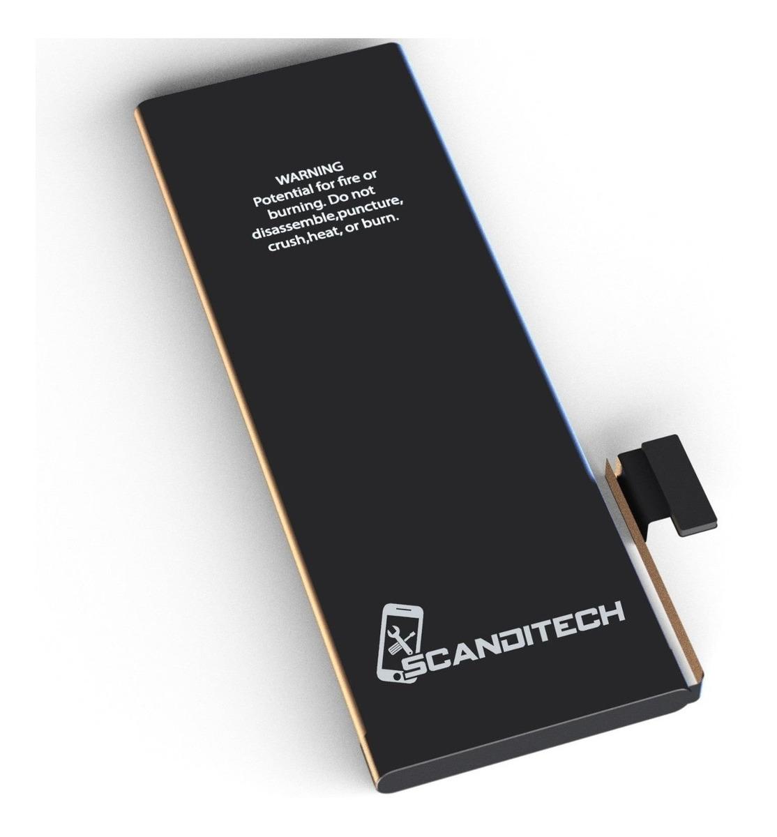 fc20664e8ac Bateria iPhone 6g Plus Scanditech 2915mah - R$ 78,76 em Mercado Livre