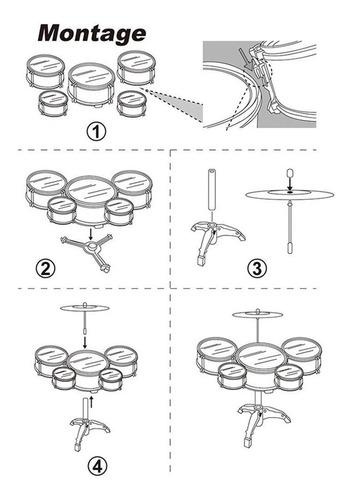 batería juguete instrumento