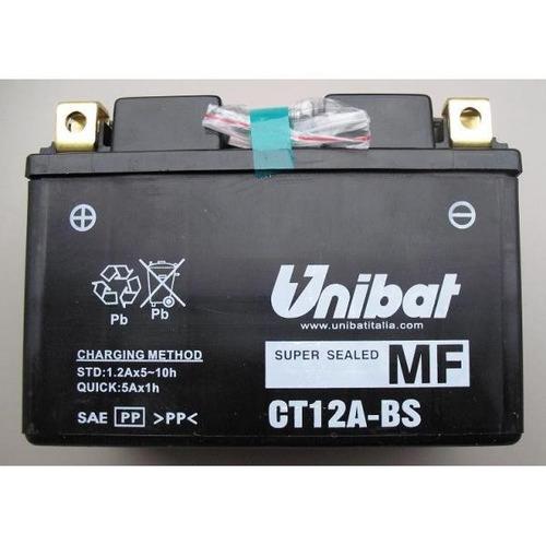 bateria kawasaki vn 900b classic 06/13 yt12a-bs unibat