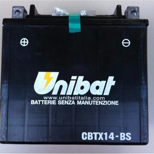 bateria kawasaki zxr 1100e 1995 a 1997 ytx14-bs unibat